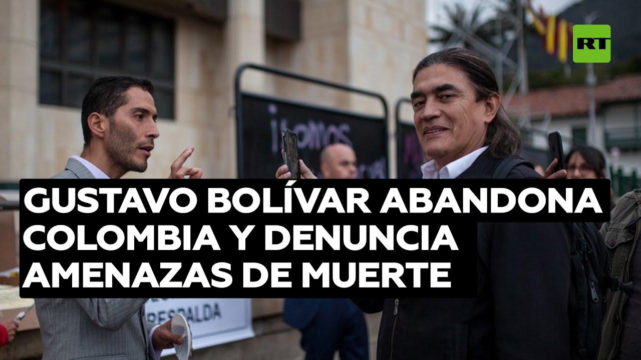 El senador opositor Gustavo Bolívar abandona Colombia y denuncia amenazas de muerte