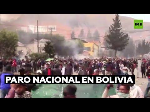 Opositores al Gobierno de Bolivia ratifican la celebración de una marcha para el 10 de octubre