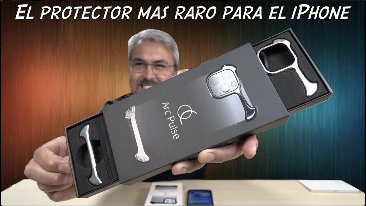 Nunca haz visto un protector para el iPhone  como este. Arc Pulse