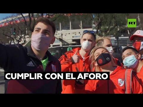 Gobierno argentino exige a los clubes de fútbol cumplir con el aforo en los estadios
