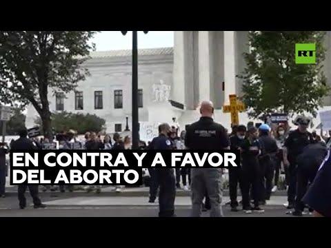 Manifestaciones en contra y a favor del aborto dejan varios detenidos en EE.UU.
