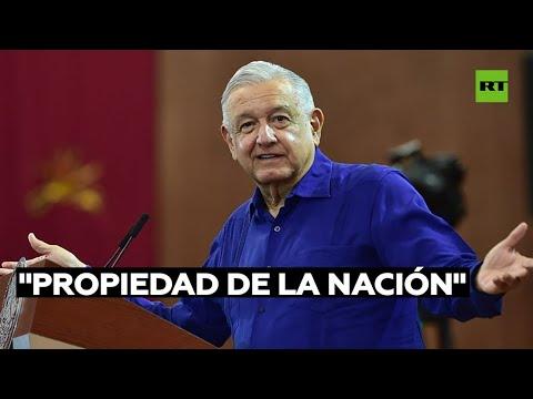 """López Obrador sobre la reforma eléctrica: """"No vamos a permitir que saqueen y se lleven el litio"""""""