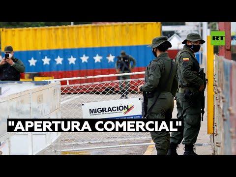 Venezuela reabrirá la frontera con Colombia a partir de este martes