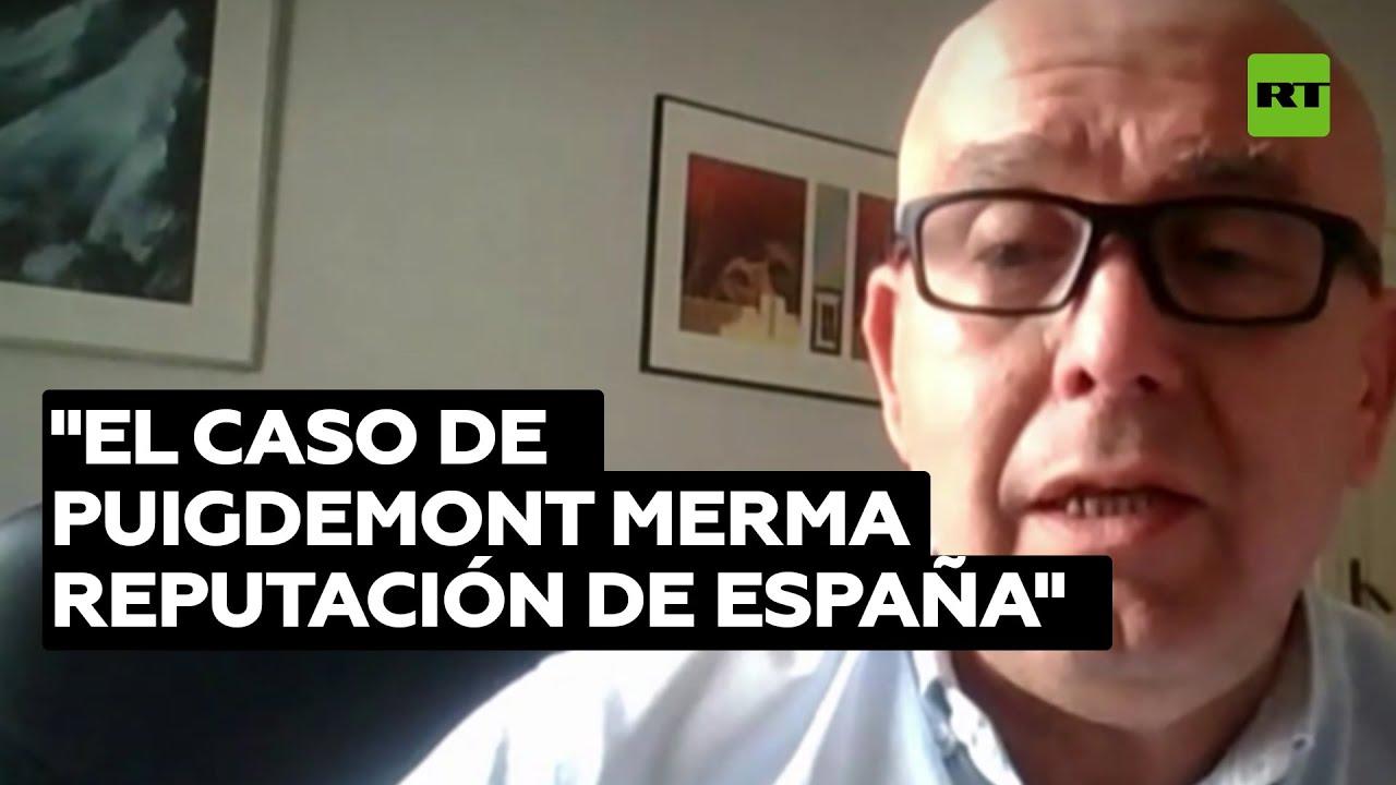"""Abogado: El caso de Puigdemont le cuesta a España """"un precio reputacional muy elevado"""""""