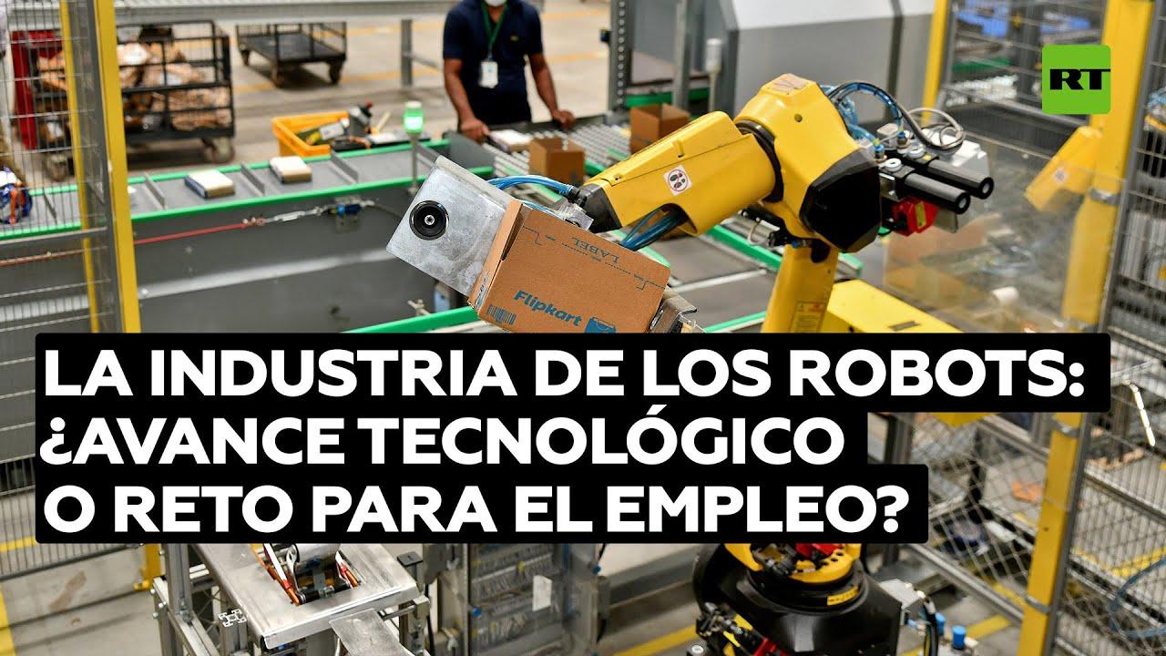 Aumento de la industria de los robots: ¿avance tecnológico o reto para el empleo?