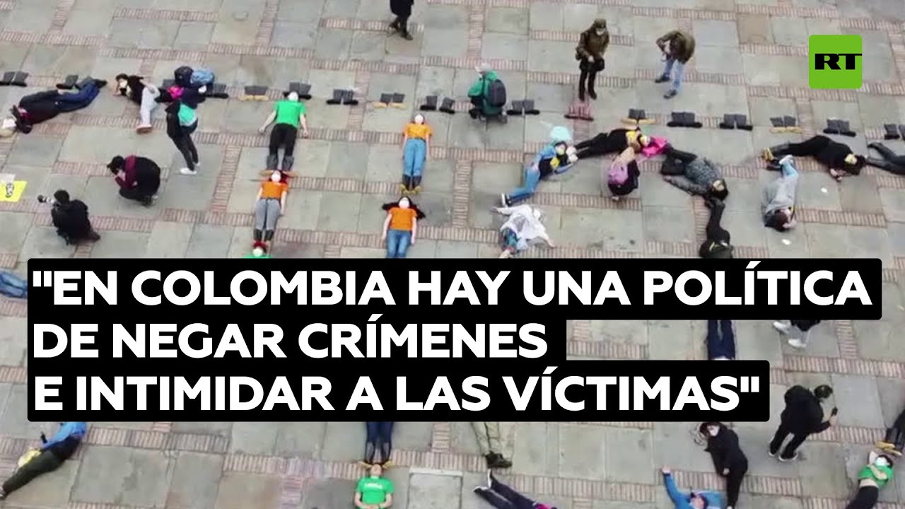 """Familiar de falso positivo: """"En Colombia hay política de negar crímenes e intimidar a las víctimas"""""""