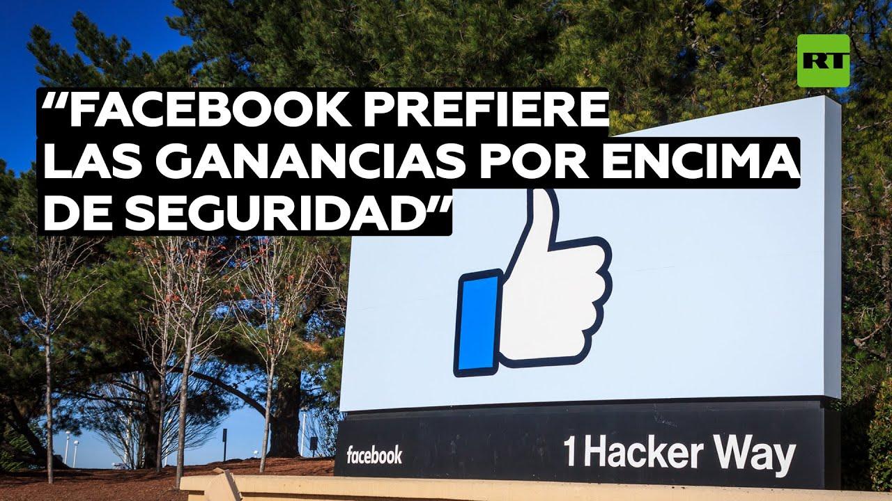 Exempleada de Facebook acusa a la red de priorizar ganancias sobre la seguridad