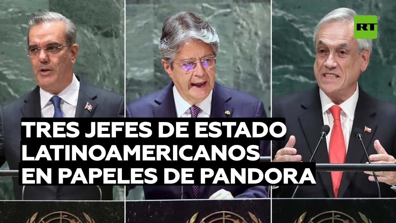 Cómo Lasso, Piñera y Abinader están vinculados con paraísos fiscales