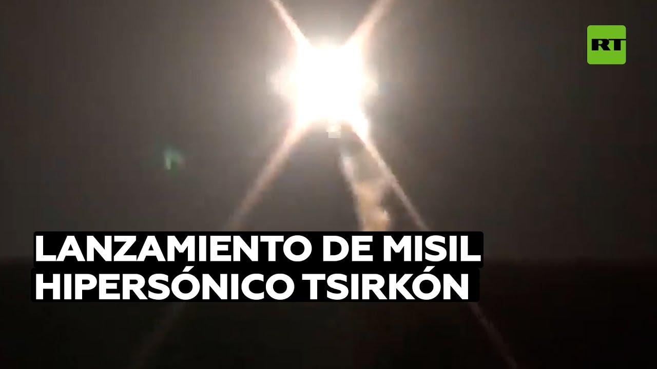 Rusia lanza por primera vez el misil hipersónico Tsirkón desde un submarino nuclear