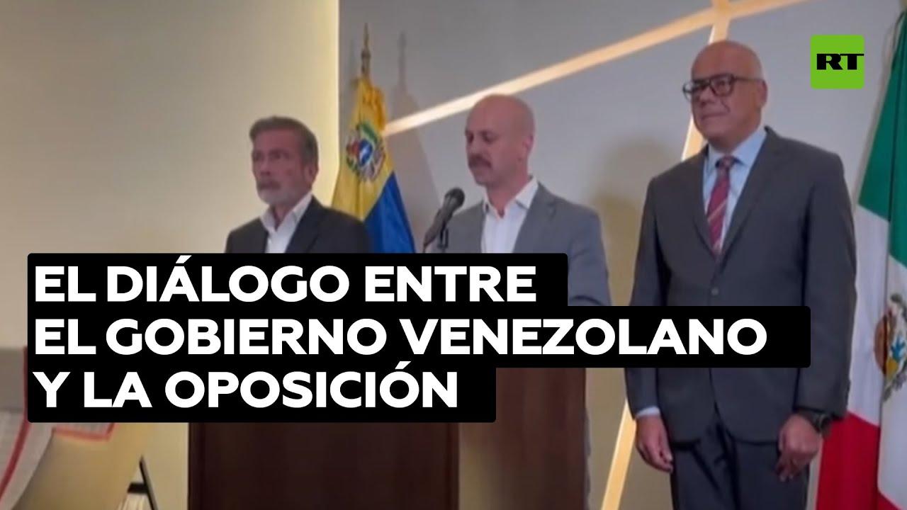 Concluye en México la 3.ª ronda del proceso de diálogo entre el Gobierno venezolano y la oposición