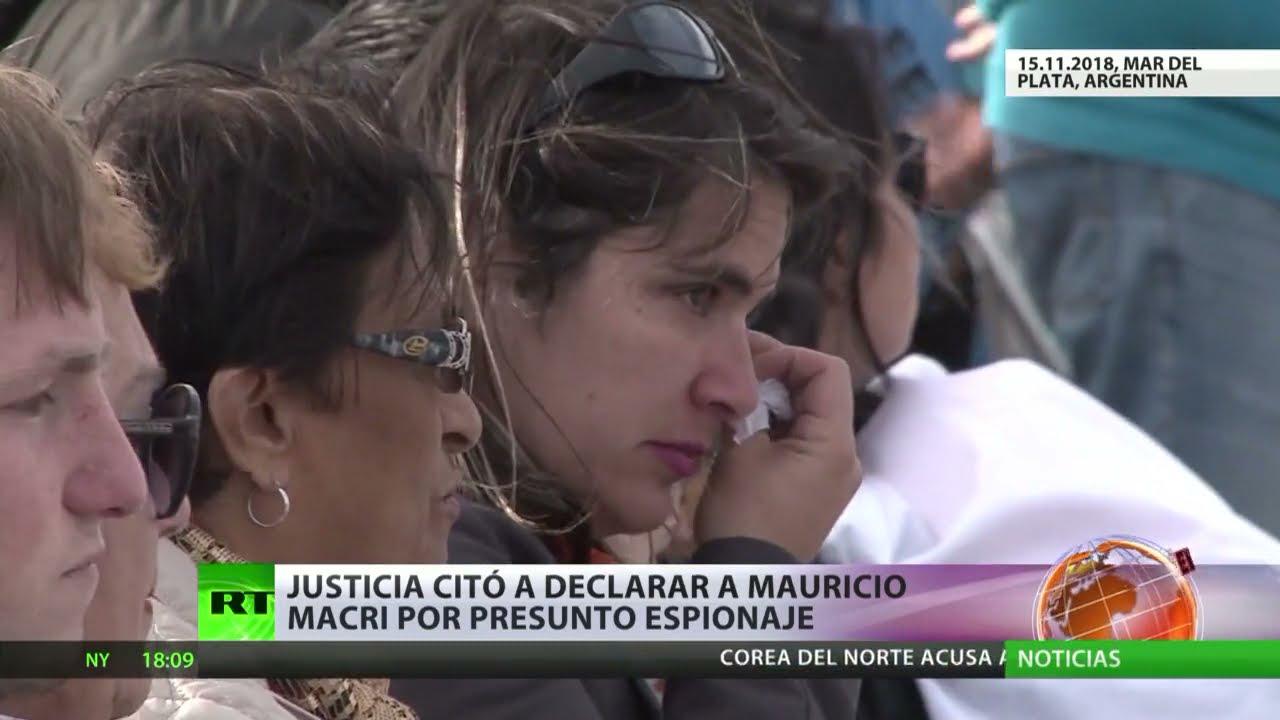 La Justicia argentina cita a declarar al expresidente Mauricio Macri por presunto espionaje