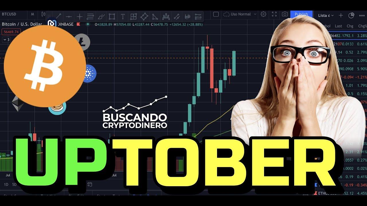 🦾 UPtober empujando a BITCOIN + Rifa de Litecoin !!!