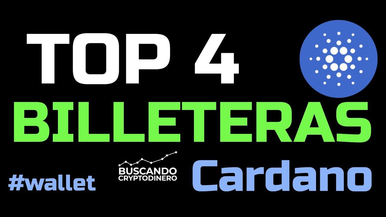 """🔵 Top 4 Billeteras de Cardano """"ADA"""" #wallets"""