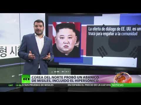 Corea del Norte prueba un abanico de misiles, incluido el hipersónico