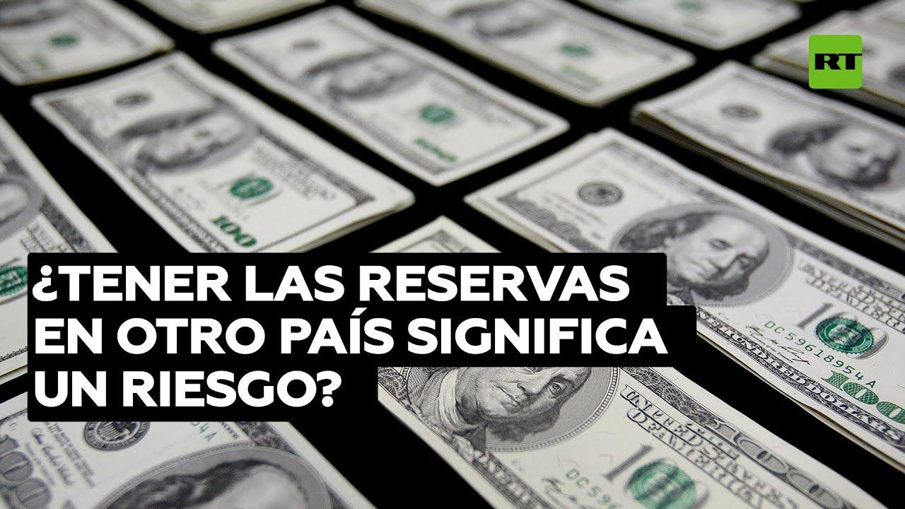¿Concentrar las reservas de oro en otro país significa un riesgo?
