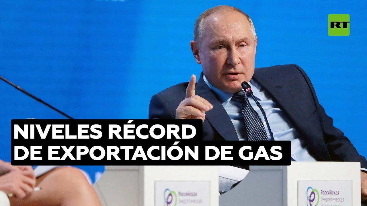 Putin: Déficit de energía eléctrica ha detonado la crisis europea