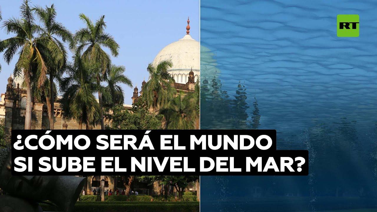 Así cambiaría el aspecto de las ciudades tras la subida del nivel del mar @RT Play en Español