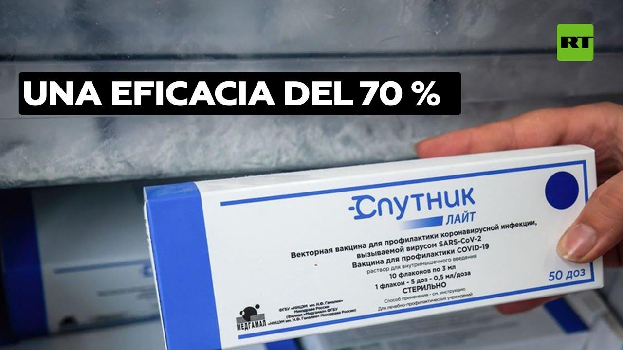 Sputnik Light: 70 % eficaz contra la cepa delta tres meses después de la vacunación