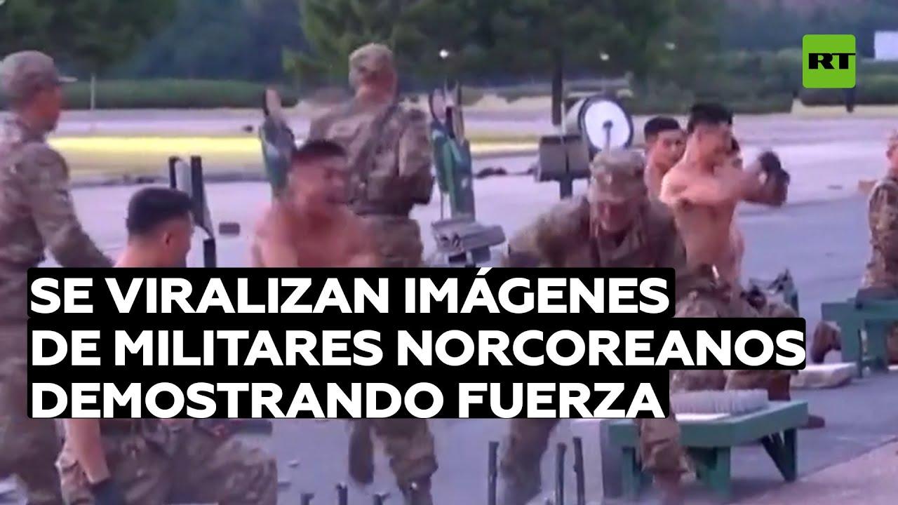 Se viralizan imágenes de militares norcoreanos haciendo demostraciones de fuerzas