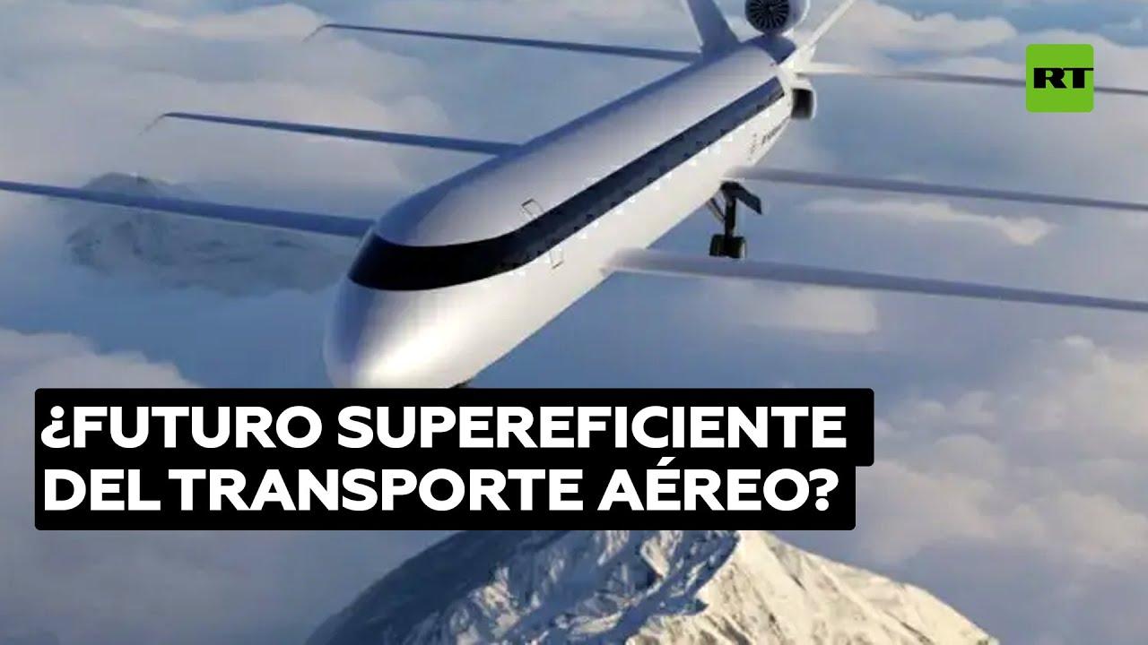 El avión de 6 alas que gasta un 70 % menos de combustible