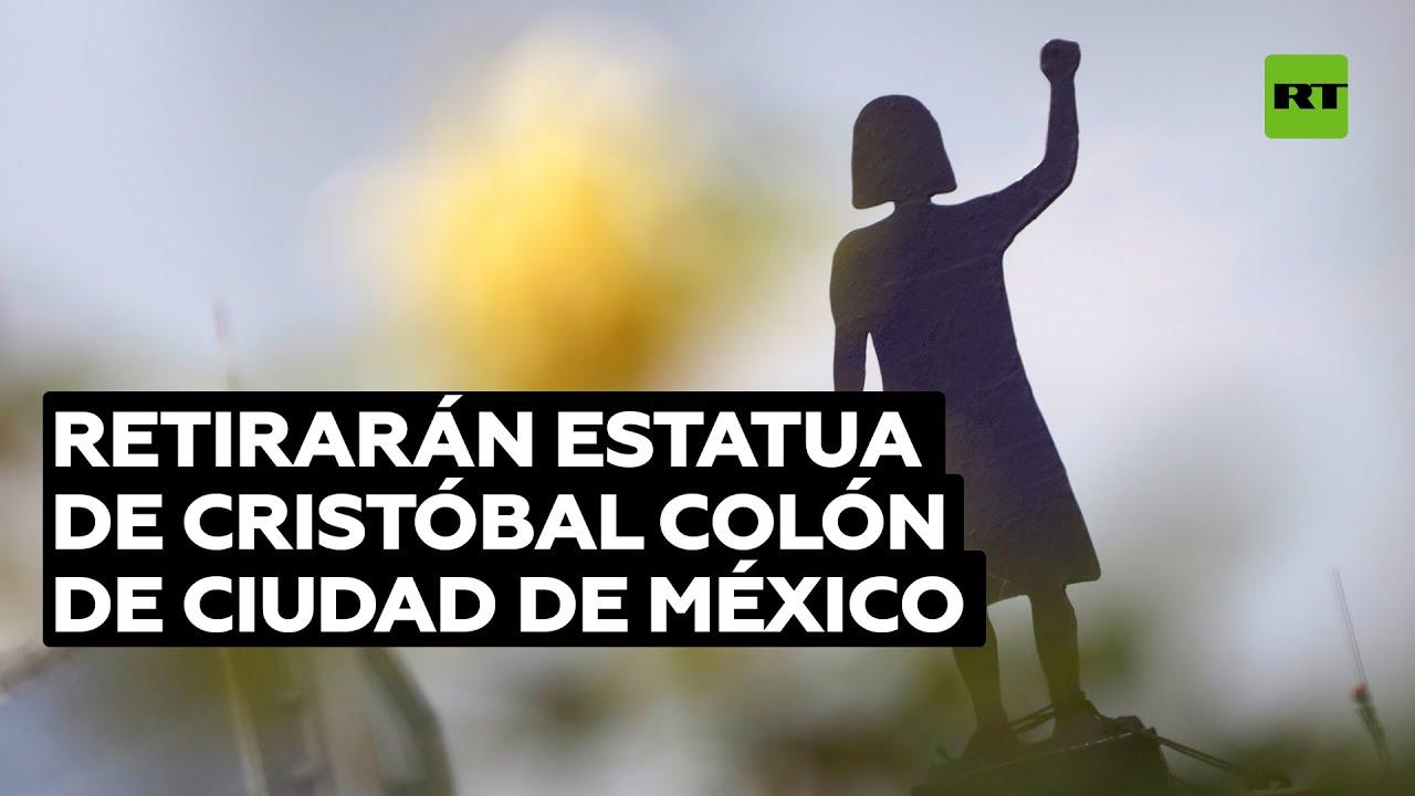 Ciudad de México reemplazará una estatua de Cristóbal Colón por 'La joven de Amajac'