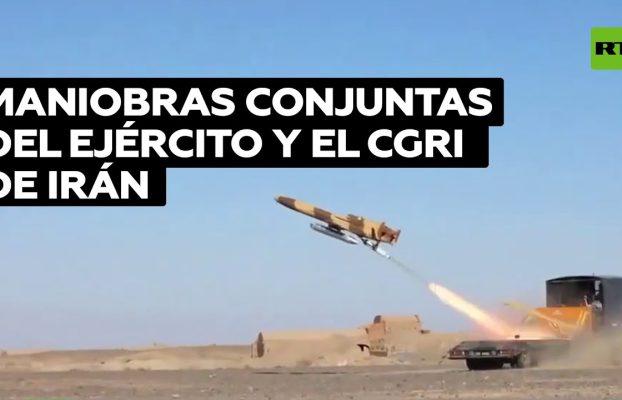 Irán inicia maniobras de defensa aérea a gran escala en medio del desierto