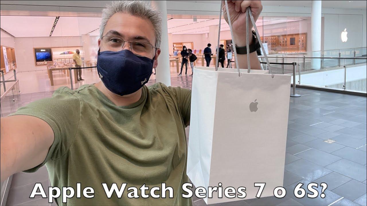 Apple Watch series 7 de 45mm o deberíamos de decir  series 6S? Unboxing y Primeras Impresiones