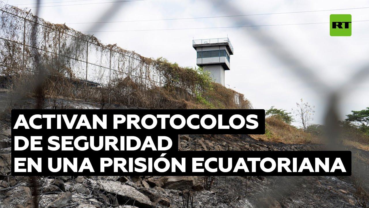 Prisión ecuatoriana refuerza la seguridad tras la masacre que siguió al presunto suicidio de 4 reos