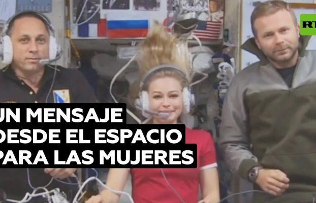 Un mensaje desde el espacio para el Foro Euroasiático de Mujeres @RT Play en Español