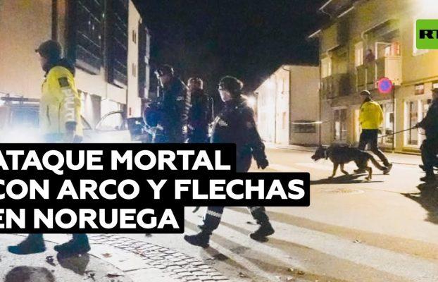 Un hombre mata a 5 personas con arco y flechas en Noruega @RT Play en Español