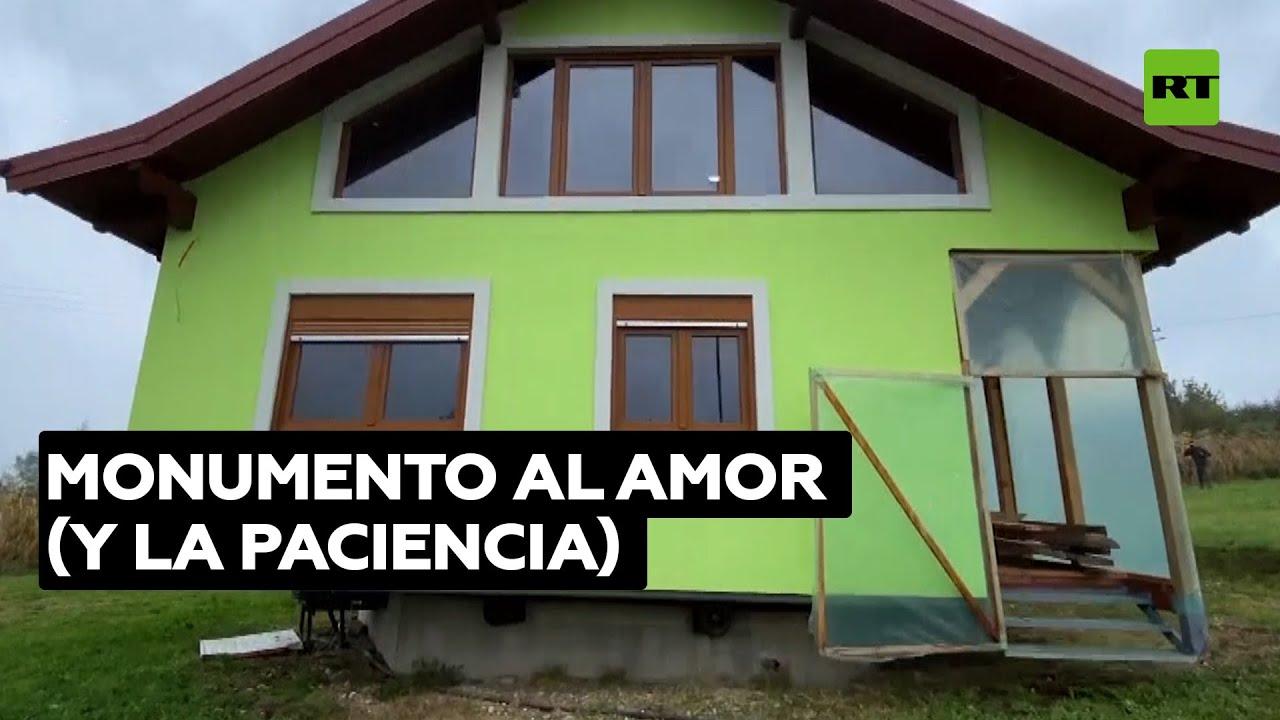 Construye una casa giratoria para satisfacer a su mujer @RT Play en Español