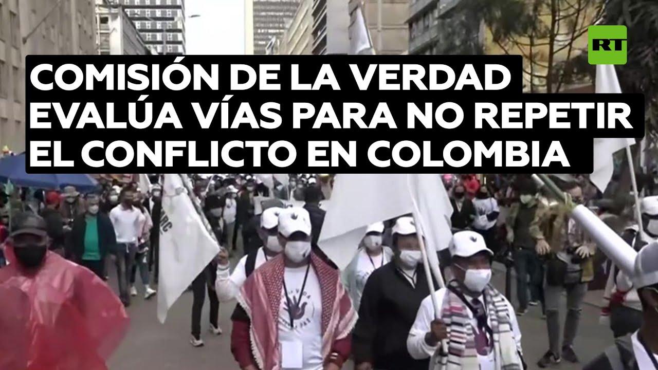 La Comisión de la Verdad evalúa vías para que no se repita el conflicto en Colombia