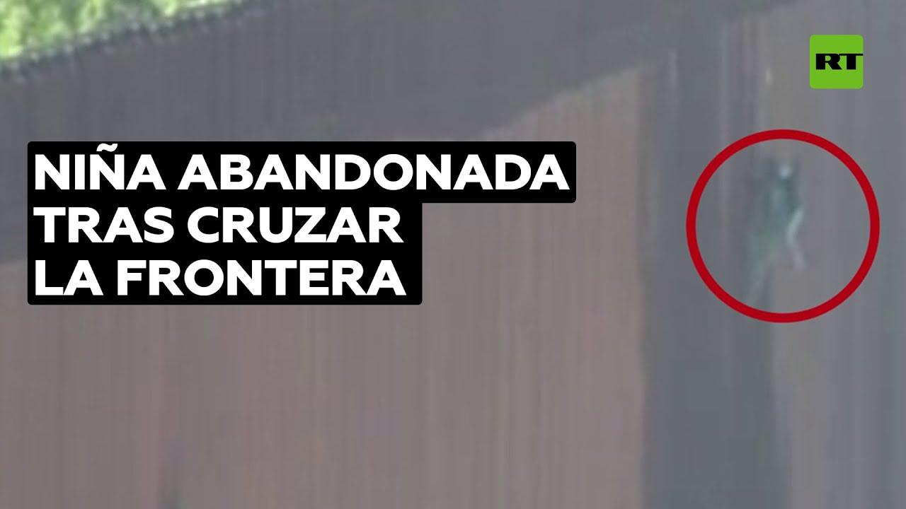 Contrabandista abandona a una niña de 7 años tras cruzar la frontera a EE.UU.