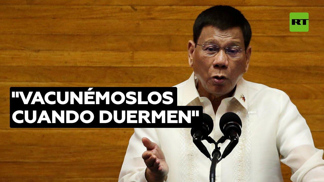 """Duterte propone resolver por la fuerza el """"problema"""" de los indecisos"""
