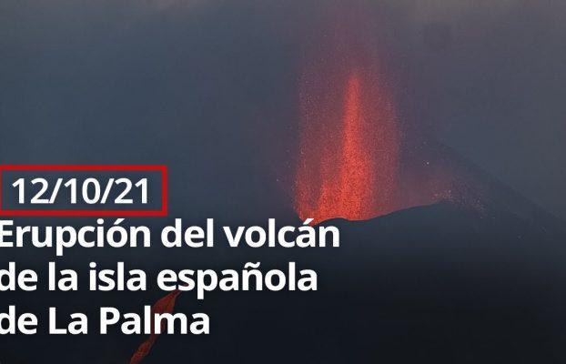 🔴 Erupción del volcán de la isla española de La Palma (12/10/21)