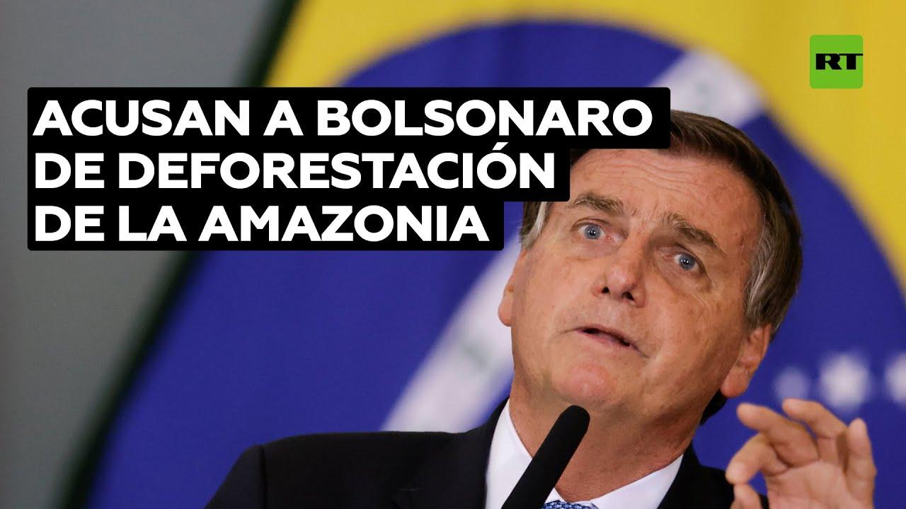 Denuncian Bolsonaro por presuntos crímenes contra la humanidad debido a su política en la Amazonia