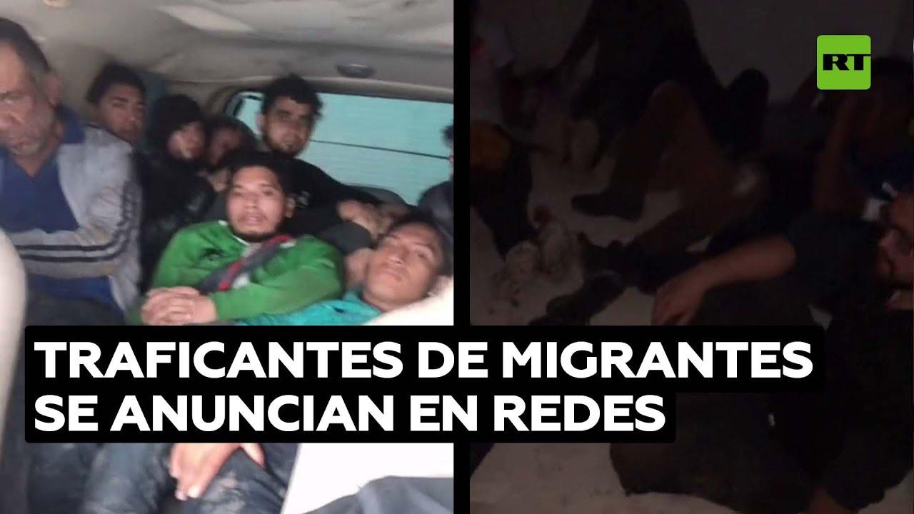 Traficantes de migrantes ofrecen sus servicios en redes para cruzar la frontera de México y EE.UU.