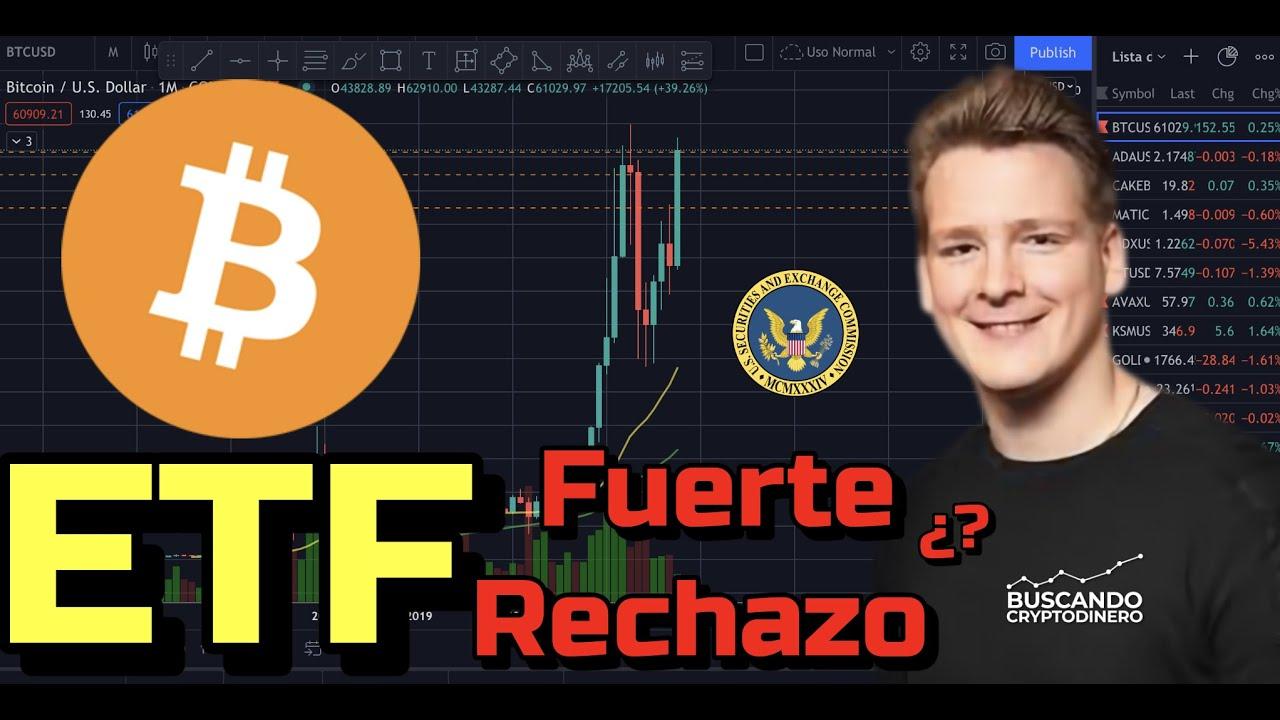 🚨 ETF de Bitcoin puede traer un fuerte rechazo Ivan on Tech??? + Noticias y Rifa de Litecoin