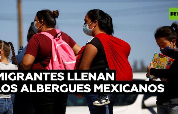 Crisis de migrantes pone al límite los albergues de México