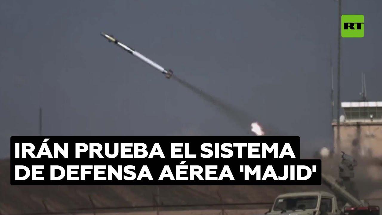 El Ejército iraní prueba el sistema de defensa aérea 'Majid'