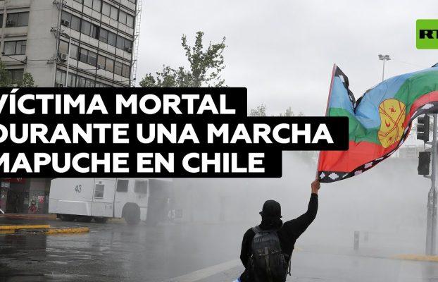 Chile: Una mujer muerta y al menos 18 agentes heridos durante una marcha mapuche