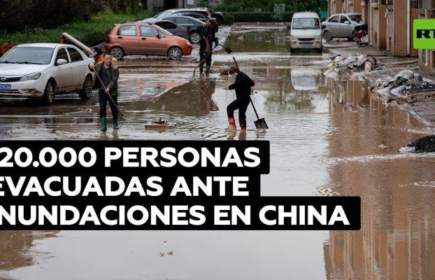 Lluvias en China afectan viviendas, cultivos y la producción de carbón