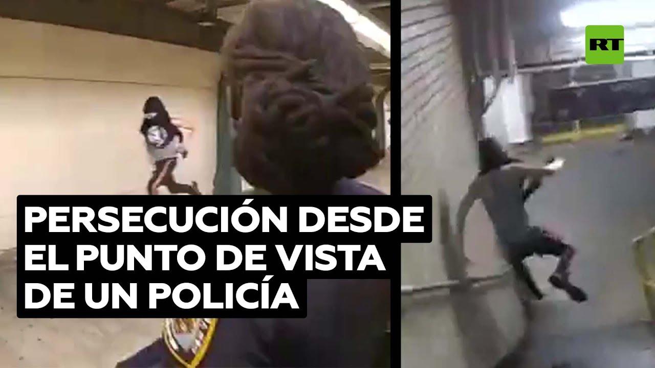 Policía alcanza tras una carrera a un joven ladrón en Nueva York