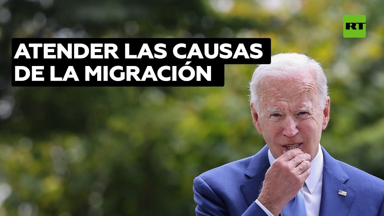 Biden responde a López Obrador con una carta donde expone su visión del fenómeno migratorio