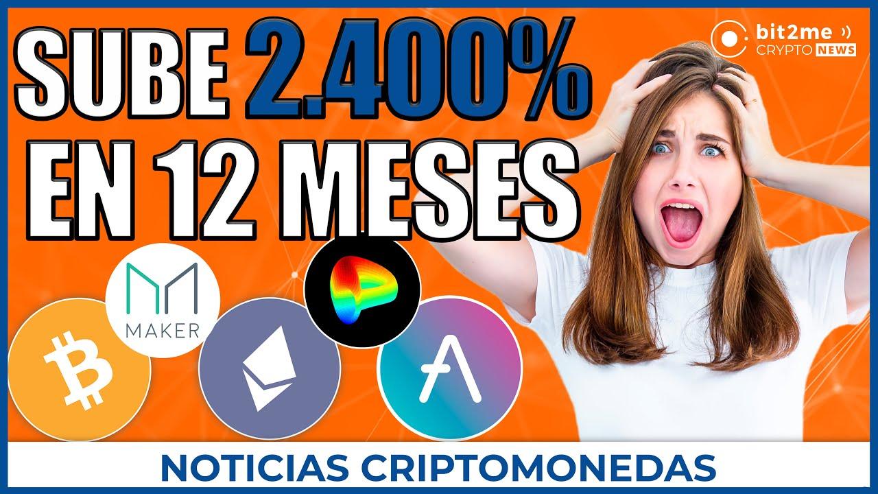 🚨 NOTICIAS CRIPTOMONEDAS HOY 🤯 Crecimiento 2.400% 📈 Bitcoin rozando ATH ✅ 1,3M wallets con 1 ETH 👈