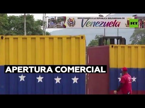 Venezuela aprobó la apertura comercial de la frontera con Colombia en Táchira