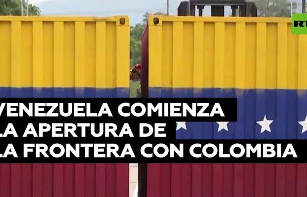 Venezuela comienza la apertura gradual de la frontera con Colombia