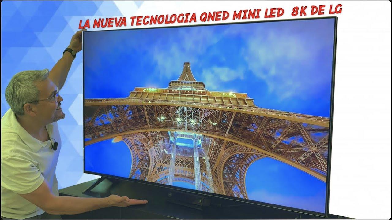 """EL NUEVO LG QNED MINI LED 8K TV 65""""  2021 es Realmente espectacular!"""