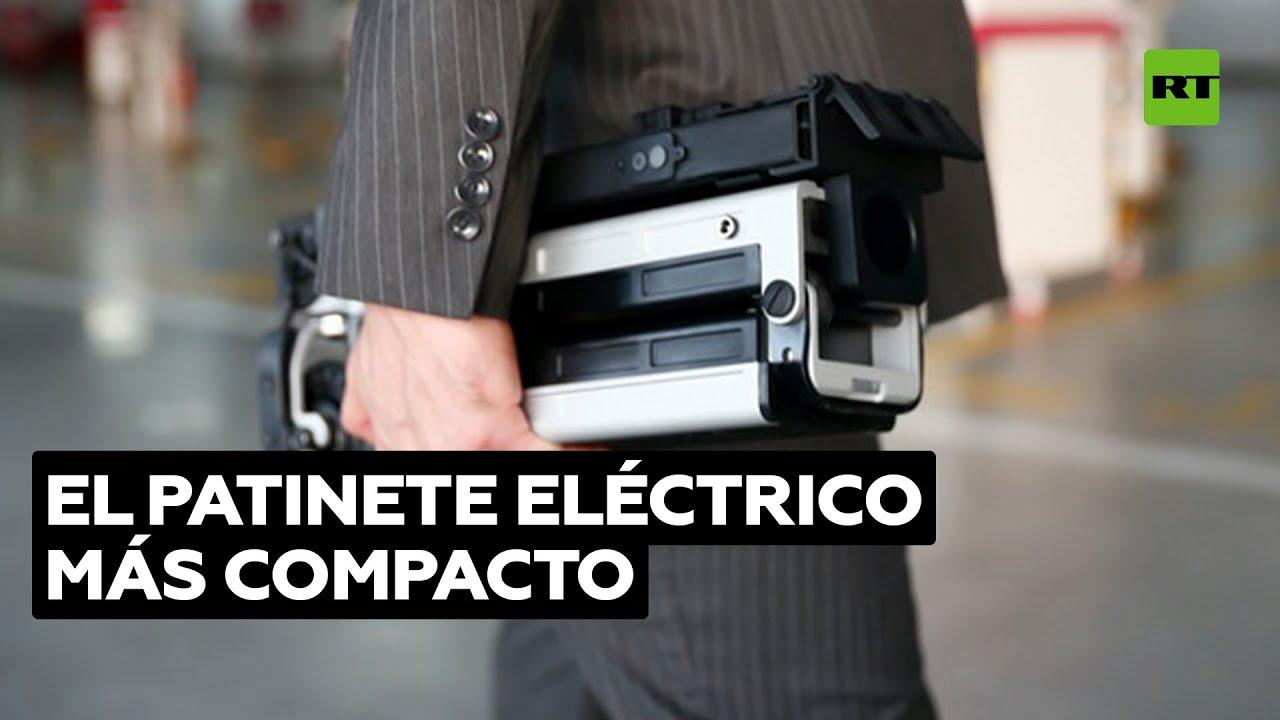 Blizwheel E-Scooter: el patinete eléctrico que cabe en una mochila @RT Play en Español