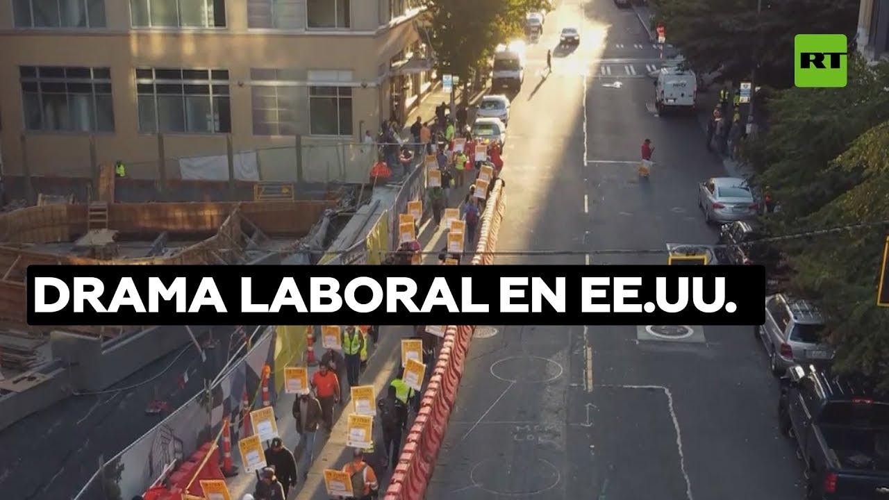 Huelgas, el último recurso ante la pandemia para mejoras laborales en EE.UU.